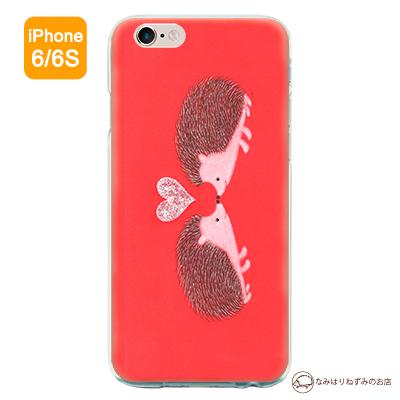 iPhone6/6Sケース 「はりねずみハート」(ポストカード付)
