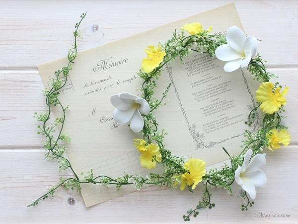 花冠プルメリア&オンシジューム