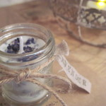 "new""soy aroma candle""Lavender""再販"