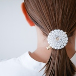 oval lace clip