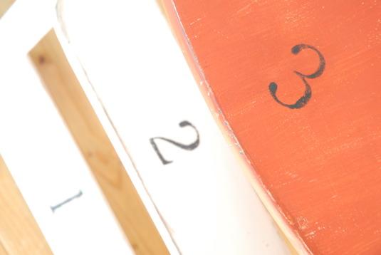 エイジング塗装 チャイルドチェア