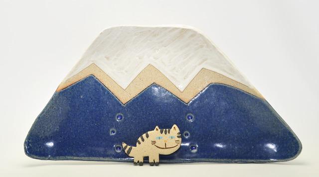 まる富士の大きい皿(大皿)
