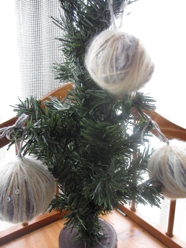 木の香りのふわころツリーオーナメントサシェ