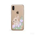 Bunny クリアソフト ケース  [ iPhone5~iPhone11/ 11 Pro/ 11 Pro Max & Samsung Android ]