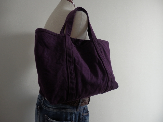 GRAPE PURPLE TOTE