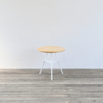 Tripod table - Oak woodtop Low