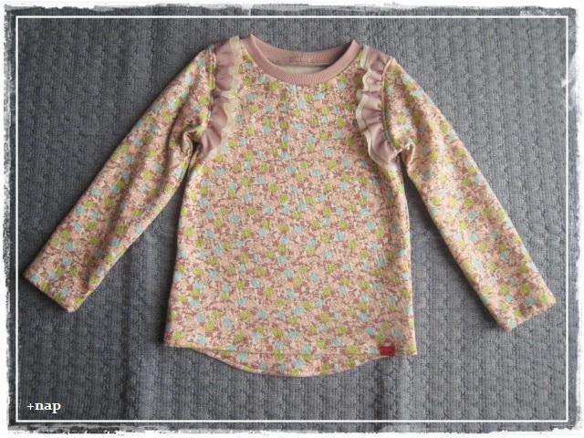 フリル長そでTシャツ(フルーツ・SP )・110