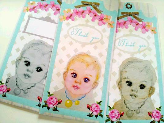 cute! babyポチ袋 5種セット