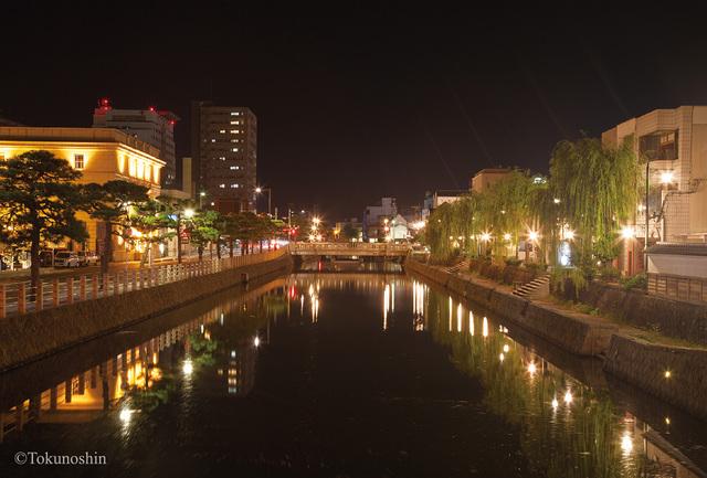 水の都 松江の夜景ポストカード3枚セット photo by Tokunoshin