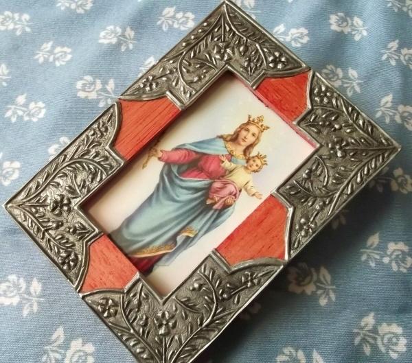 写真立て 無原罪の聖母