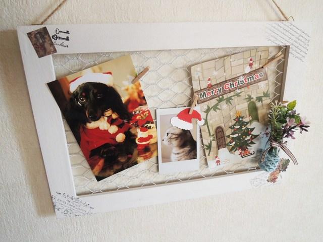 アクセサリー*写真*メッセージカードを飾るボード<265>