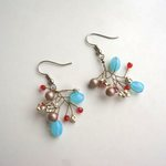 branche light blue&red