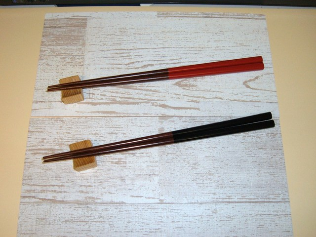 木製箸置き