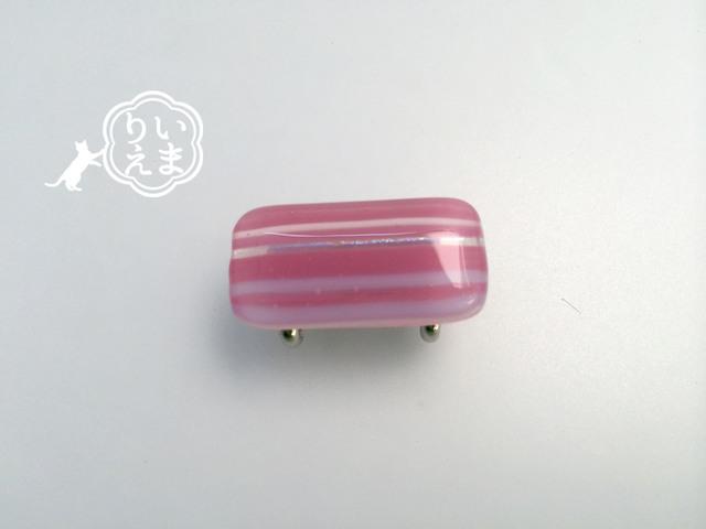 ライン ピンク M1 #帯留め #帯 #着物 #和装