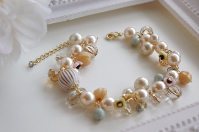 *再販*pearl party **antique  for mam
