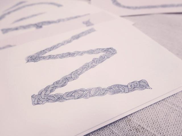 アルファベットポストカード3枚セット