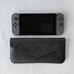 nintendo switch case / clutch bag -black-