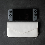 nintendo switch case / clutch bag -white-