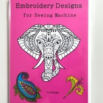 「Embroidery Designs  for Sewing Machine」ミシン刺繍素材 刺繍データCD