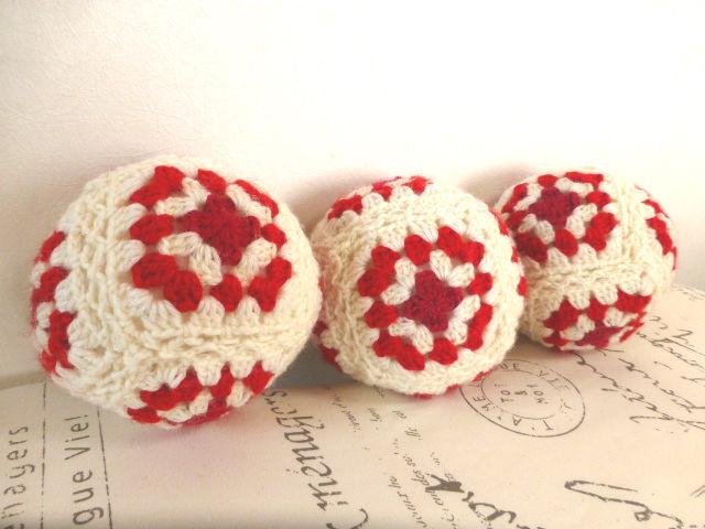 毛糸のボール:white