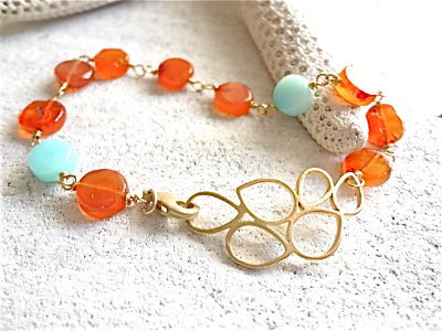 Sunset Seaside bracelet  黄昏の海