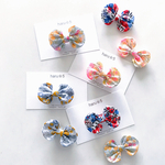 * LIBERTY Wiltshire *  funwari mini ribbon clip  <baby&kids> ※ヘアゴムに変更可能