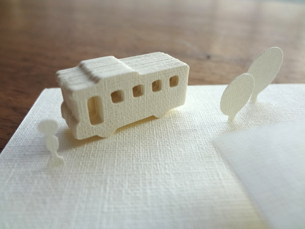 紙バスキット 〜 Paper Bus Kit 〜