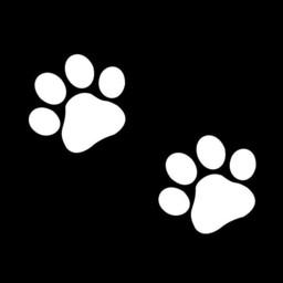 50 犬足跡 無料アイコンダウンロードサイト